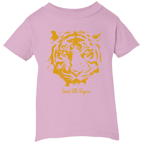 Save the Tigers Awareness Infant T-Shirt