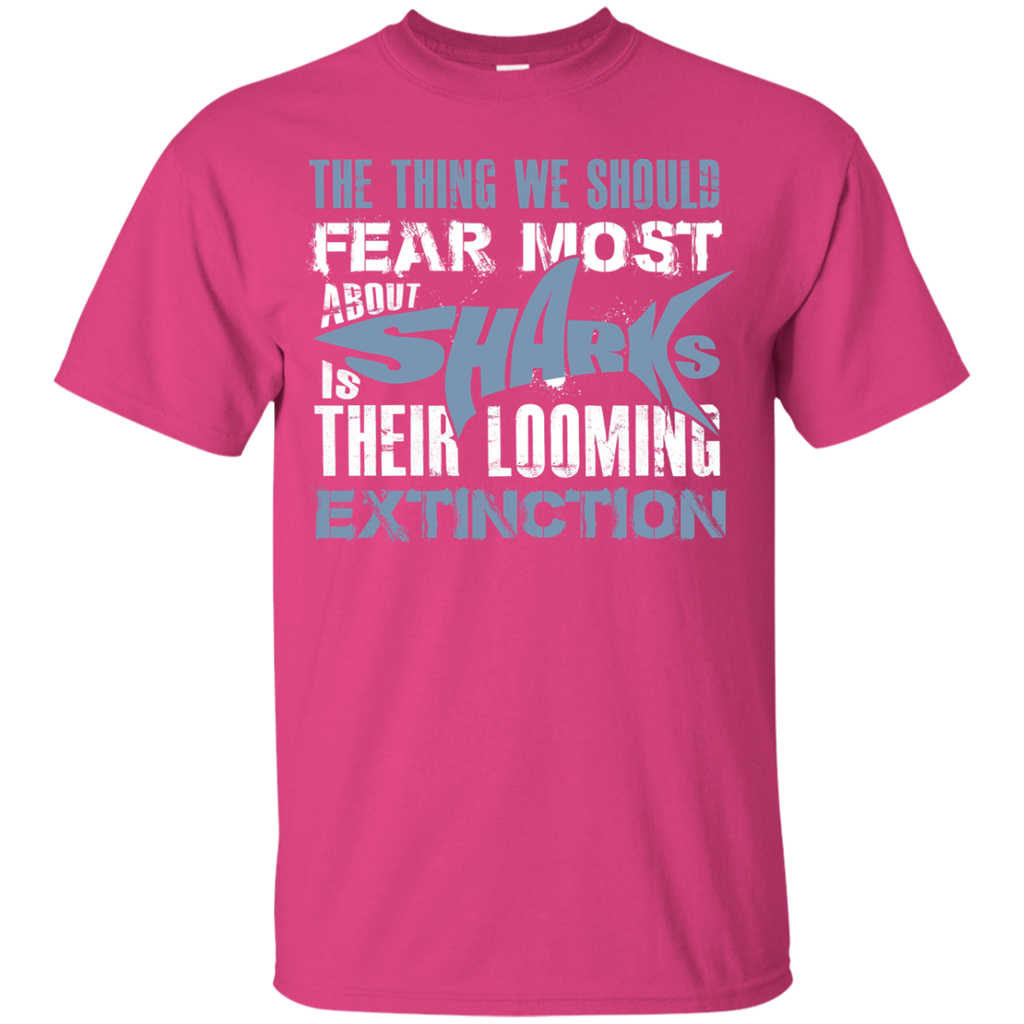The Thing we Should Fear Most About Sharks is Their Looming Extinction Youth T-Shirt