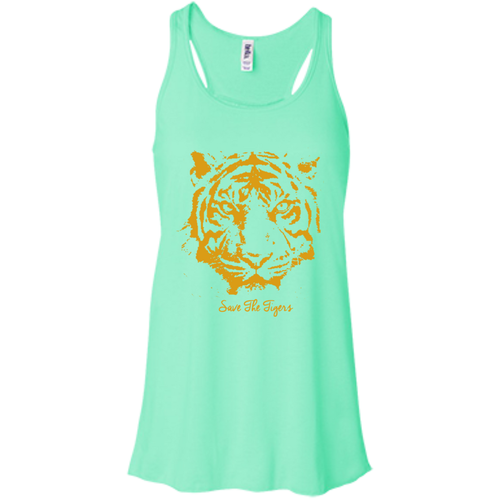 Save the Tigers Awareness Flowy Tank Top