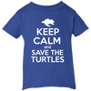 Image of Keep Calm And Save the Turtles Infant T-Shirt