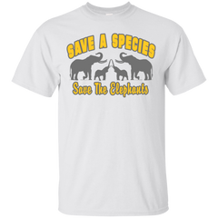 Save A Species Save the Elephants Awareness Unisex T-Shirt