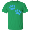 Image of Paw Prints Youth T-Shirt