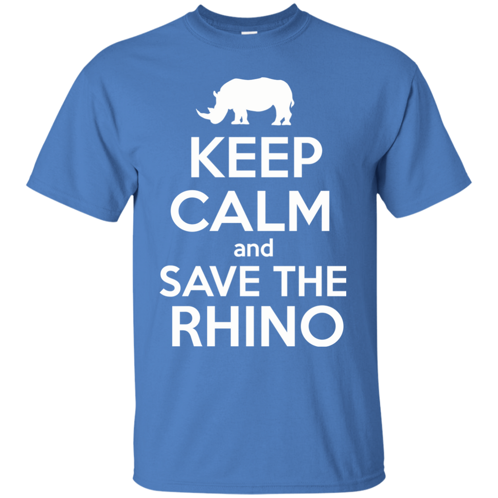 Keep Calm and Save the Rhino Youth T-Shirt