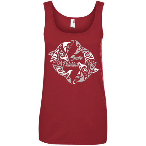 Save Dolphins Awareness Women's Tank Top