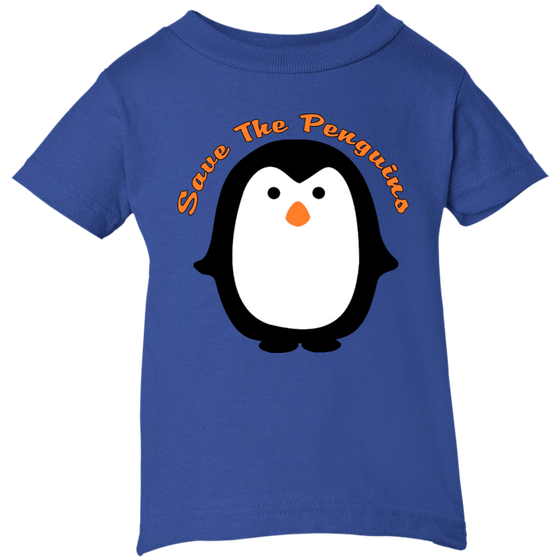 Save the Penguin Awareness Infant T-Shirt