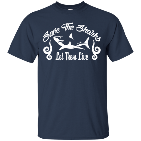 Save the Sharks Let Them live Unisex T-Shirt