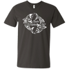 Image of Save Dolphins Awareness Men's V-Neck T-Shirt