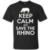 Image of Keep Calm and Save the Rhino Youth T-Shirt