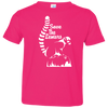 Image of Save the Lemur Awareness Toddler Jersey T-Shirt