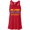 Image of Save the Species Save the Elephants Awareness Women's Flowy Tank Top