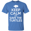 Image of Keep Calm And Save the Turtles Youth T-Shirt
