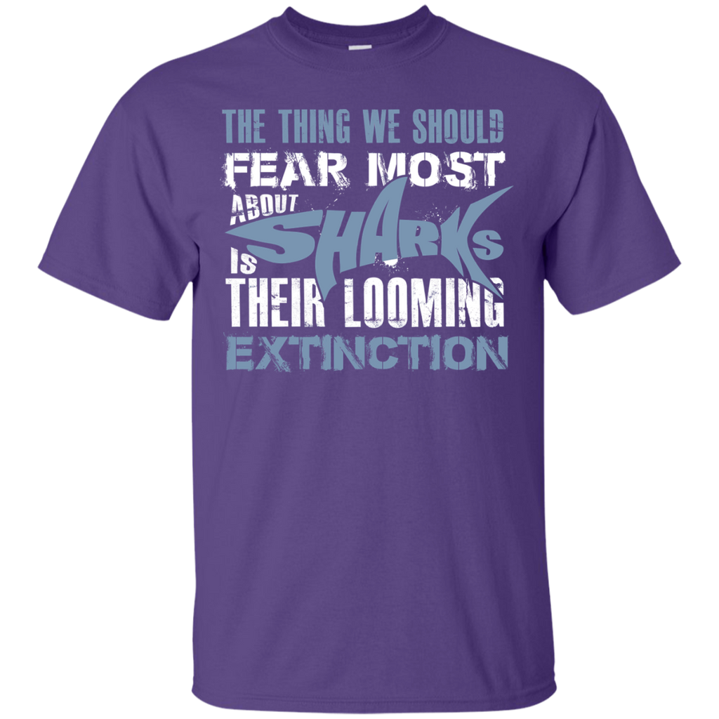 The Thing we Should Fear Most About Sharks is Their Looming Extinction Unisex T-Shirt