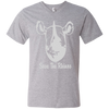 Image of Save the Rhino Men's V-Neck T-Shirt