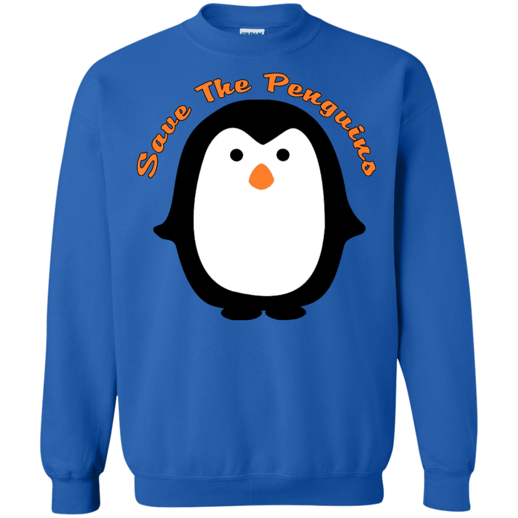 Save the Penguin Awareness Sweatshirt