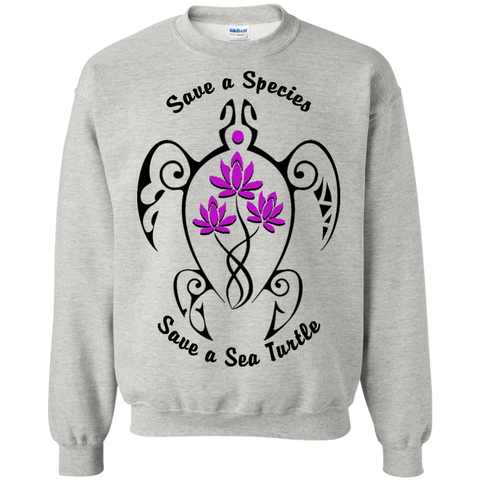 Save a Species Save the Sea Turtle Awareness Sweatshirt