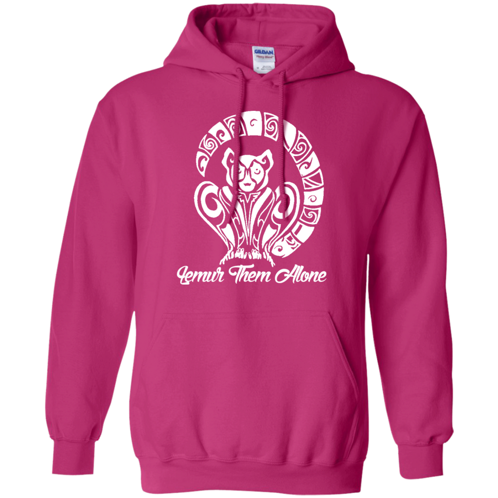 Lemur Them Alone Awareness Hoodie