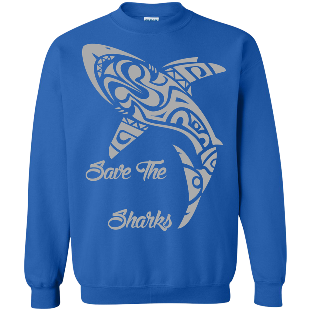 Save the Sharks Tribal Sweatshirt
