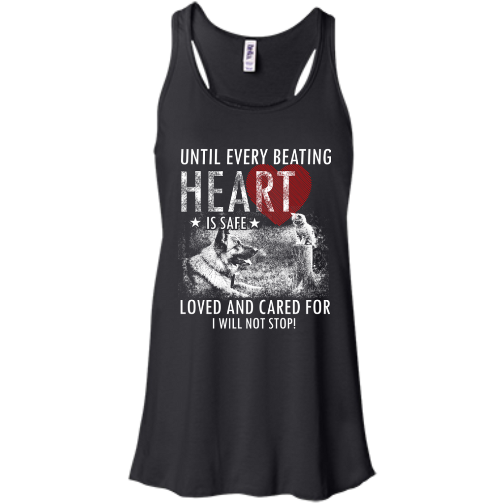 Save & Care for Dog Lovers Women's Flowy Tank Top