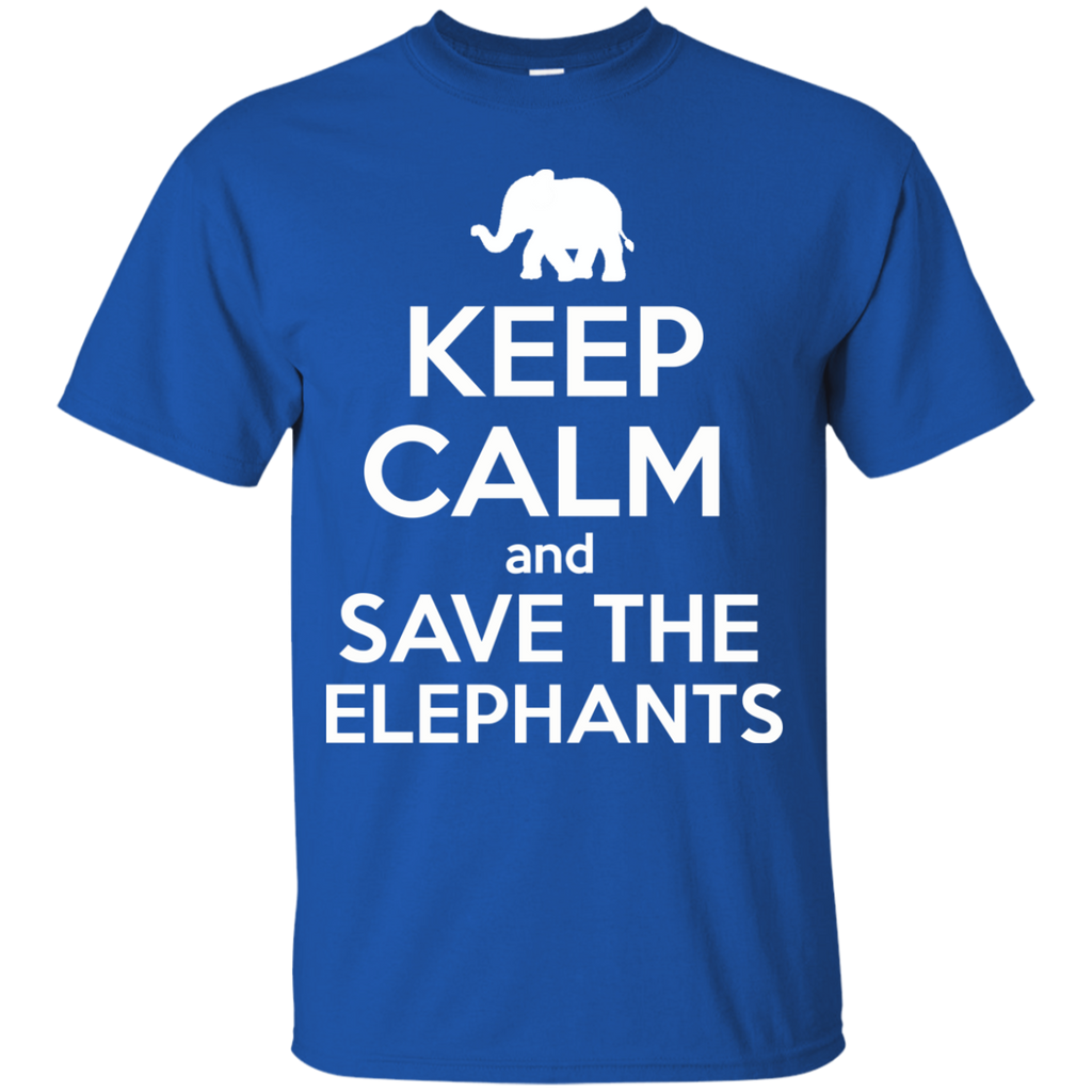 Keep Calm and Save the Elephants Youth T-Shirt