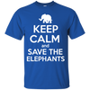 Image of Keep Calm and Save the Elephants Youth T-Shirt