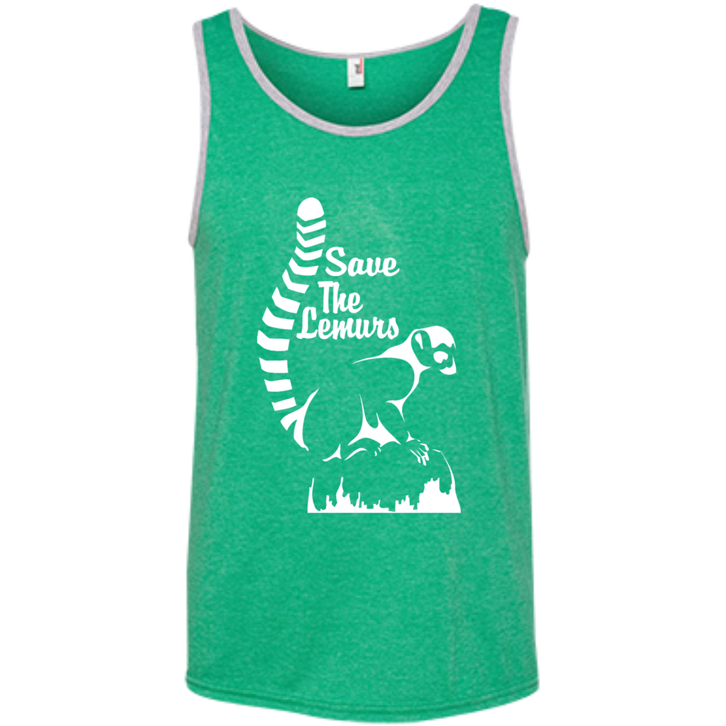 Save the Lemur Awareness Men's Tank Top