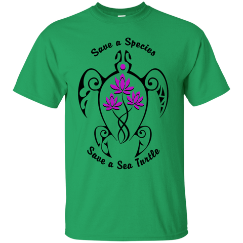 Save a Species Save the Sea Turtle Awareness Youth T-Shirt