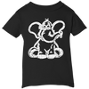 Image of Funny Elephant Stencil Infant T-Shirt