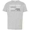 Image of Nobody Needs A Rhino Horn Except a Rhino Awareness Toddler Jersey T-Shirt