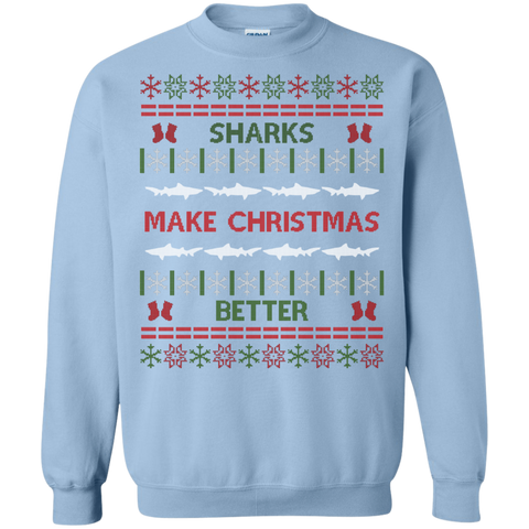 Sharks Make Christmas Better