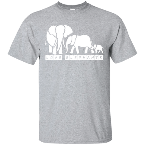 Love Elephants Awareness Unisex T-Shirt