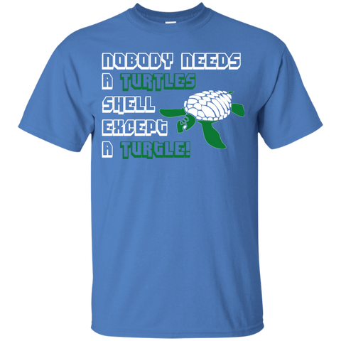 Nobody Needs a Turtle Shell Except a Turtle Youth T-Shirt
