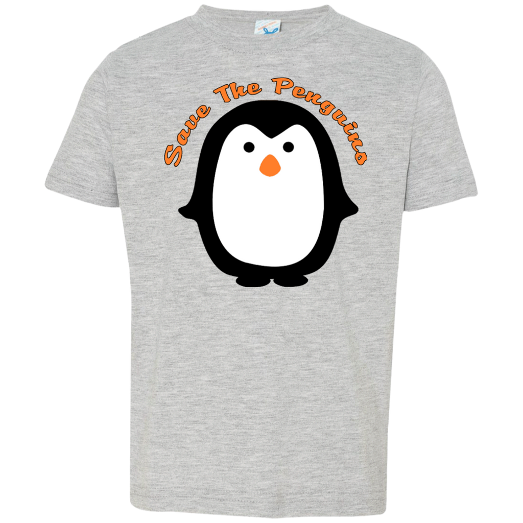 Save the Penguins Awareness Toddler Jersey T-Shirt