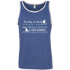 Image of The Thing we Should Fear Most About Sharks is Their Looming Extinction Men's Tank Top