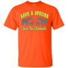 Image of Save A Species Save the Elephants Awareness Youth T-Shirt