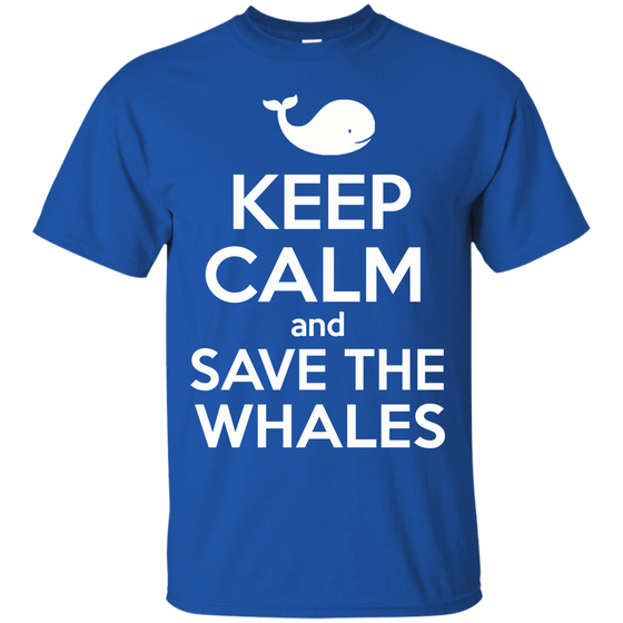 Keep Calm And Save the Whales Unisex T-Shirt