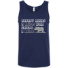 Image of Nobody Needs A Rhino Horn Except a Rhino Awareness Men's Tank Top