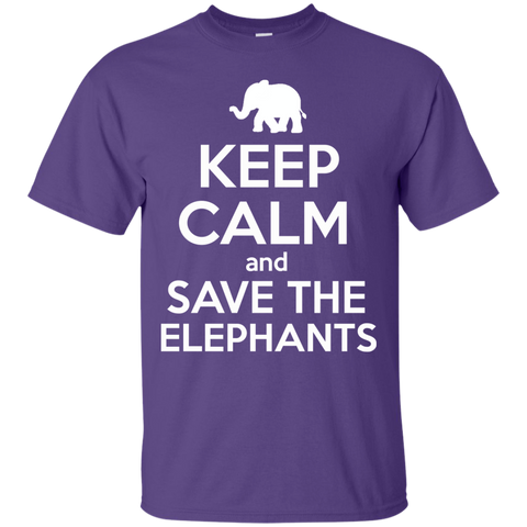 Keep Calm and Save the Elephants Unisex T-Shirt