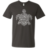Image of Save the Turtles Awareness Men's V-Neck T-Shirt
