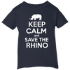 Image of Keep Calm and Save the Rhino Infant T-Shirt
