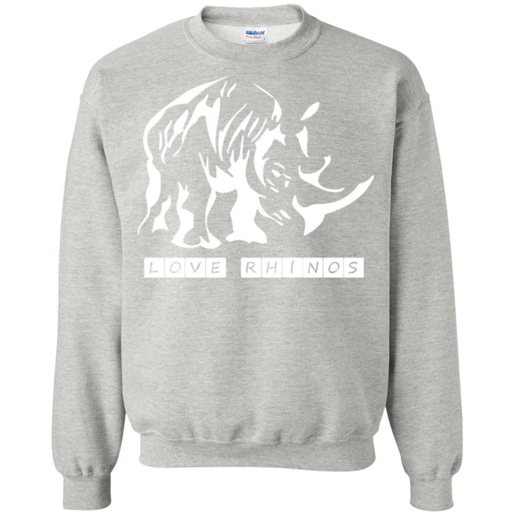 Love Rhinos Sweatshirt
