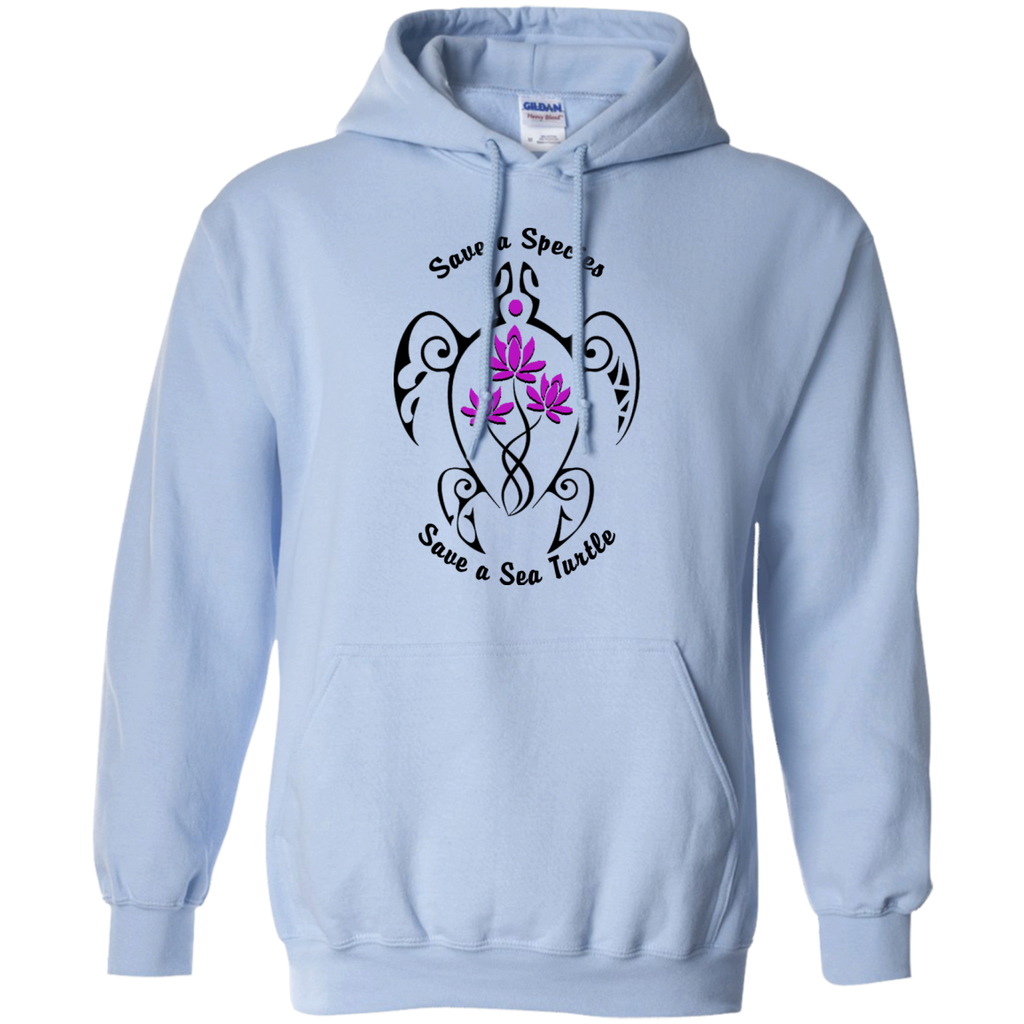 Save a Species Save the Sea Turtle Awareness Hoodie