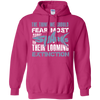 Image of The Thing we Should Fear Most About Sharks is Their Looming Extinction Hoodie