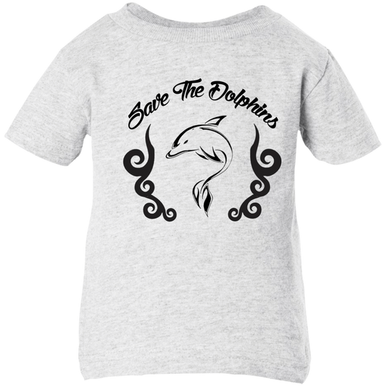 Save The Dolphins Awareness Infant T-Shirt