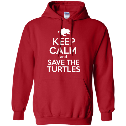 Keep Calm And Save the Turtles Hoodie