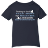 Image of The Thing we Should Fear Most About Sharks is There Looming Extinction Infant T-Shirt