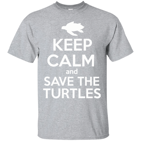 Keep Calm And Save the Turtles Unisex T-Shirt