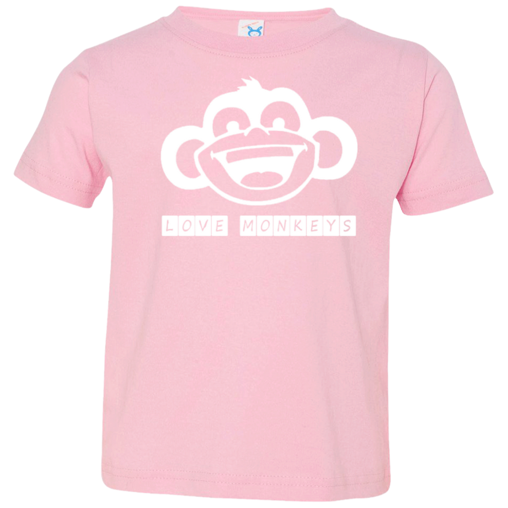 Love Monkeys Toddler Jersey T-Shirt