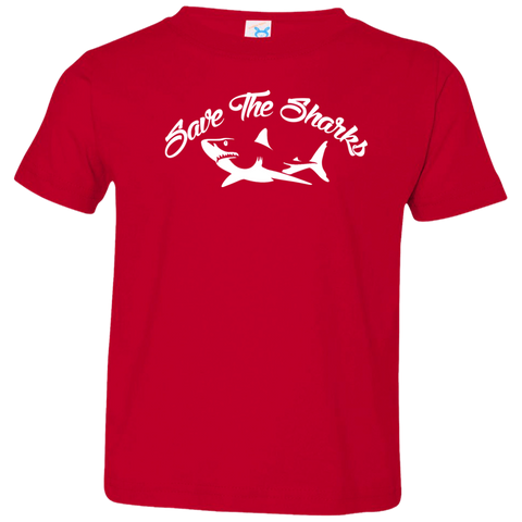 Save the Sharks Toddler Jersey T-Shirt