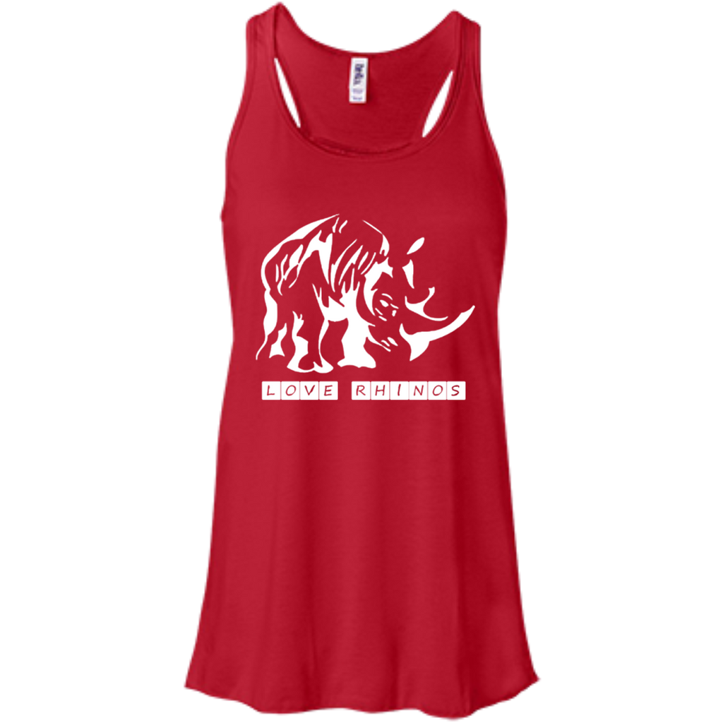 Love Rhinos Women's Flowy Tank Top