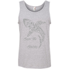 Image of Save the Sharks Tribal Men's Tank Top
